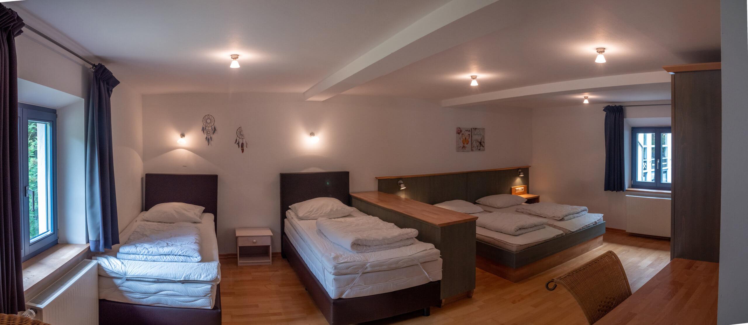 Innen - Schlafzimmer #1a - Pano