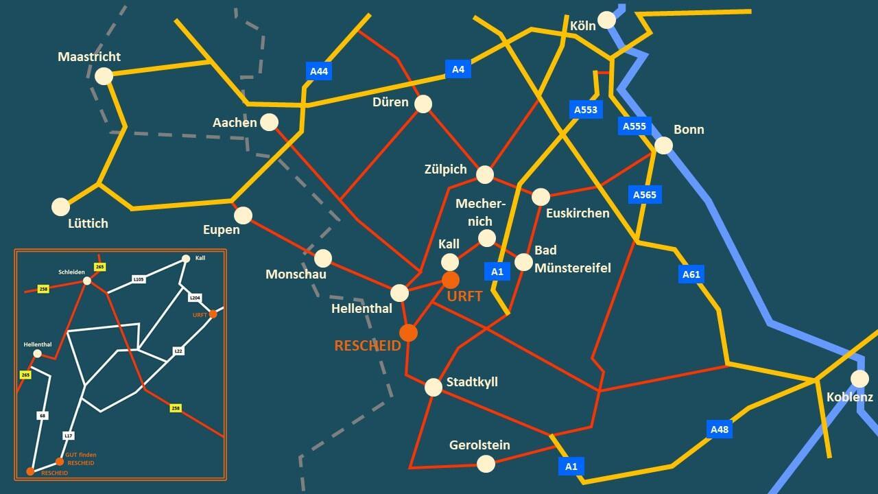 GUTfinden - Karte